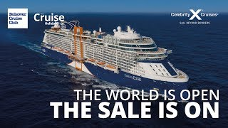 THE SALE IS ON, Celebrity Cruises