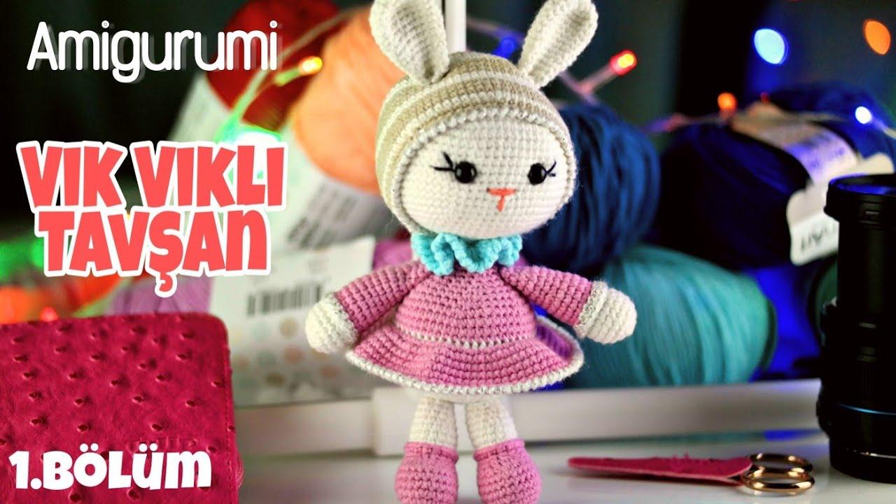 Kafa Yapımı | Amigurumi Vikvikli Ponçik Tavşan Yapılışı #1