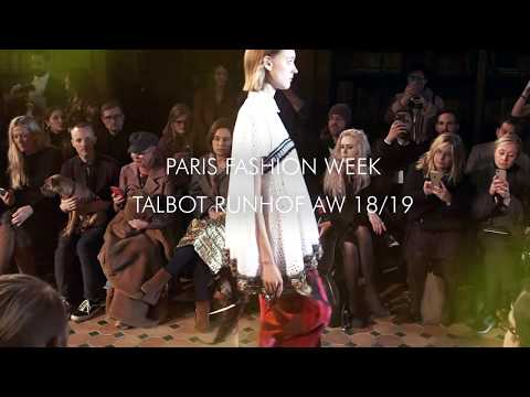 Talbot Runhof AW 2018/19 | Paris Fashion Week