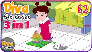 Seri Diva 3 in 1 | Kompilasi 3 Episode ~ Bagian 62 | Diva The Series Official
