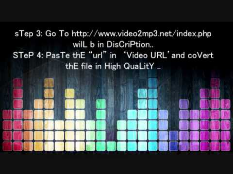 How To Download Music And YouTube Video In Mp3 Format HiGh QualiTy