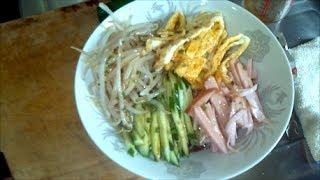 Salad Ramen: Hiyashi-chuka. Japanese Cuisine.