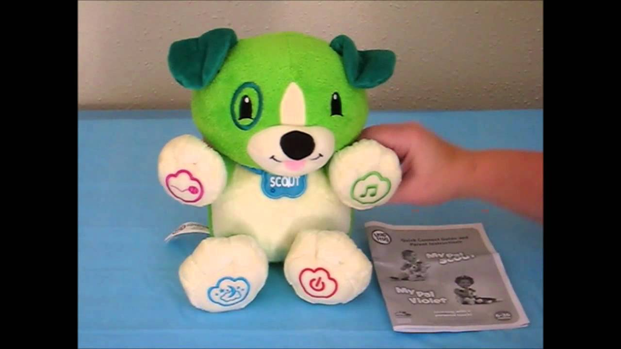 Leapfrog My Pal Scout Toy Demonstration Youtube