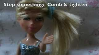 Video Doll hair tutorials! Hairstyle and washable dying download MP3, 3GP, MP4, WEBM, AVI, FLV Juni 2018