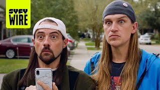 How Clerks 3 Became Jay And Silent Bob Reboot | NYCC 2019 | SYFY WIRE