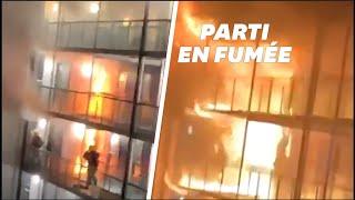 Un incendie ravage une résidence étudiante en Grande-Bretagne