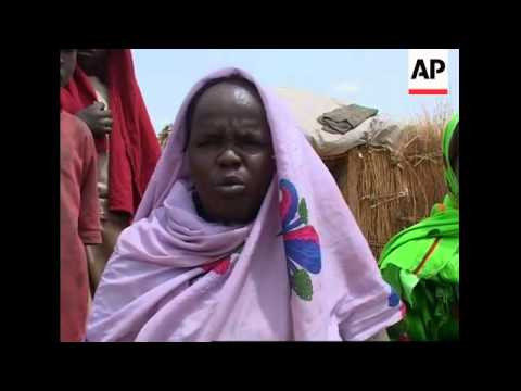 REPLAY Plight of people displaced by conflict at Darfur's Tawila camp