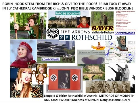 Robin Hood King John Longschamps Roths Piso Windsor genes Mitfords of Morpeth WW2 Leopold of Austria
