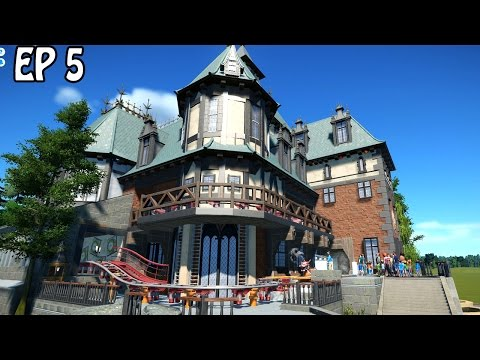 Dragon Blood Manor | Dark Ride | Planet Coaster Gameplay