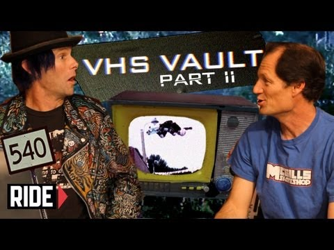 The Invention of the 540 - Kevin Staab with Mike McGill - VHS VAULT (Part 2 of 2)