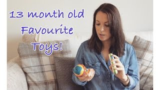 13 month old | Top 5 Favourite Toys