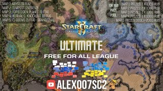 Ultimate Free For All League в StarCraft II: Legacy of the Void
