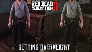 Red Dead Redemption 2 - How To Get Overweight