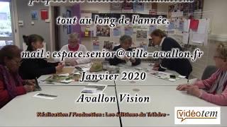 Atelier manuel à l'Espace Sénior de la ville d'Avallon (89).