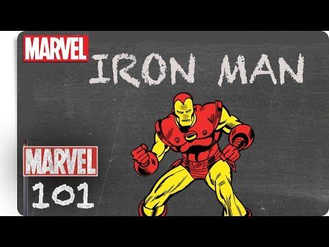 Marvel 101 - Iron Man   NEU auf Marvel HQ Deutschland