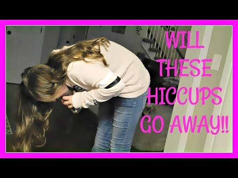 HICCUPS WONT GO AWAY! HOW TO CURE HICCUPS! SNOW DAY FUN DAY!!