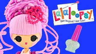 Lalaloopsy CRAZY HAIR The Princess Poof! Colorful Lalaloopsy Toy Designer Doll with Glitter Polish