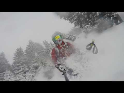 Deep Powderday at First Grindelwald