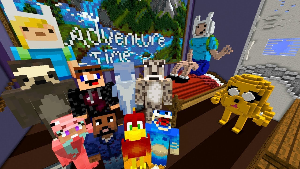 Minecraft Xbox Hide And Seek Adventure Time