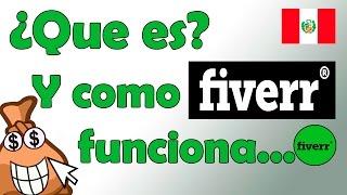 Que es Fiverr y como funciona