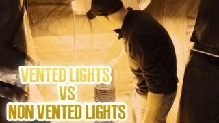 Is It Better To Use Vented Grow Lights Or Not |  Reflectors Better Than Non Reflector