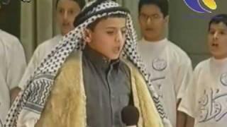 عبدالمجيد الفوزان وهو صغير