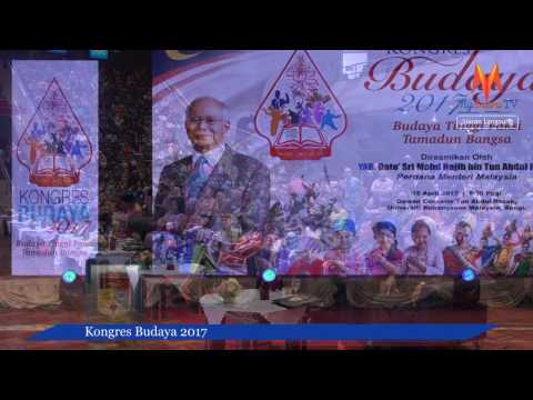 Kongres Budaya 2017 - Dato' Sri Mohd Najib Tun Abdul Razak