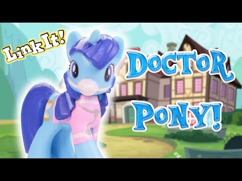 A DOCTOR PONY?! Opening My Little Pony Blind Bags - MLP Fever PikyKwiky LinkIt Card Game #ad - 동영상