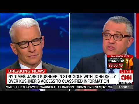 "CNN's Toobin: Jared Kushner is in a ""lucky sperm club"""