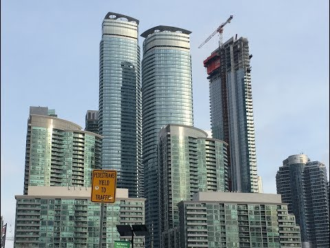 Toronto's skyline is entering the stratosphere, Must Visit CN Tower and Skyscrapers at Downtown