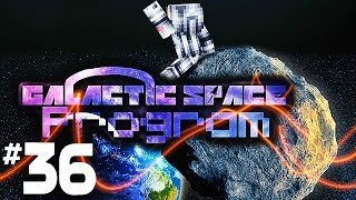 Minecraft Galactic Space Program - #36 Asteroids (Skyblock Survival in Space!)