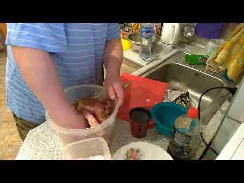 Шашлык , рецепт шашлыка с соевым соусом и луком