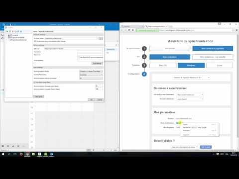Synchroniser plusieurs agendas du WorkSpace avec Microsoft Outlook via CalDav
