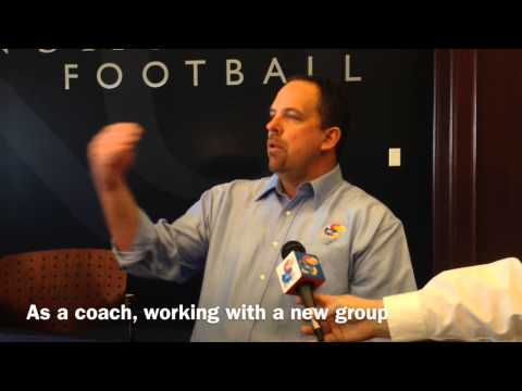 John Reagan on spring football, progress of KU