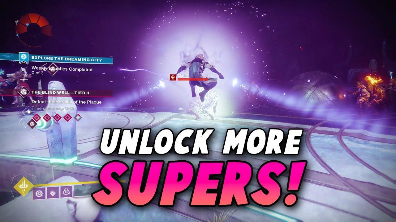 how to unlock forsaken subclasses