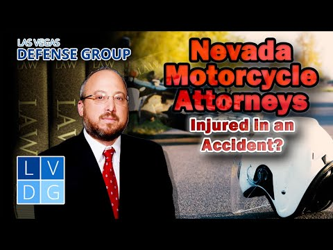 Injured in a motorcycle accident? Nevada Motorcycle Attorneys