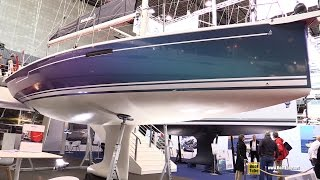2017 Dehler 34 Sailing Yacht - Deck and Interior Walkaround - 2016 Salon Nautique Paris