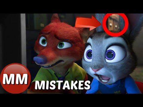 Disney Zootopia Movie MISTAKES You Didn't...