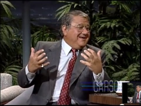 Buddy Hackett tries to keep his jokes clean on Johnny Carson's Tonight ...