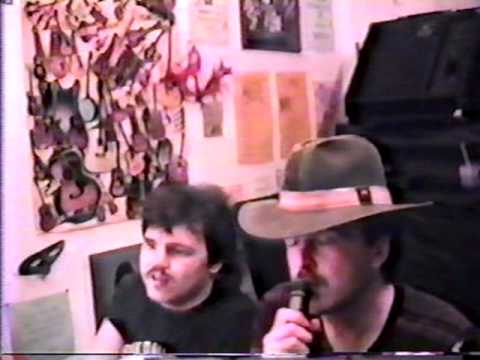 (PART ONE) Ro Helke and Best Friend  Eric Turnbow Goofing and Jamming 1988 (Classic stuff)