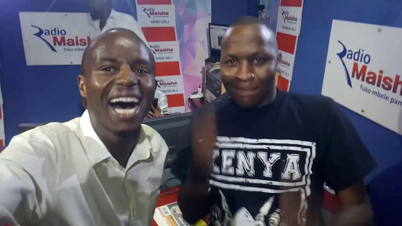 Download DJ 2One2 killing it @Mwasumbe @Shugaboy @RadioMaisha