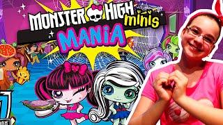 Monster High Minis Mania Работаем в кафе вместе с Монстр Хай ШКОЛА МОНСТРОВ ?ИГРЫ ДЛЯ ДЕТЕЙ