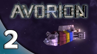 Avorion - 2. Naonite Upgrade! - Let's Play Avorion Gameplay