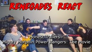 Renegades React to... Honest Trailers - Mighty Morphin Power Rangers: The Movie