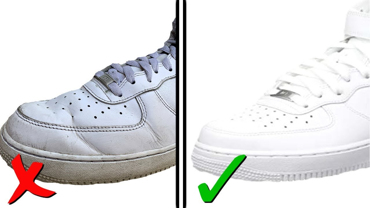 How To Get Creases Out Of Nike Air Force 1's (BEST WAY!)