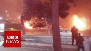 Reaction: Turkish capital Ankara hit by huge explosion - BBC News