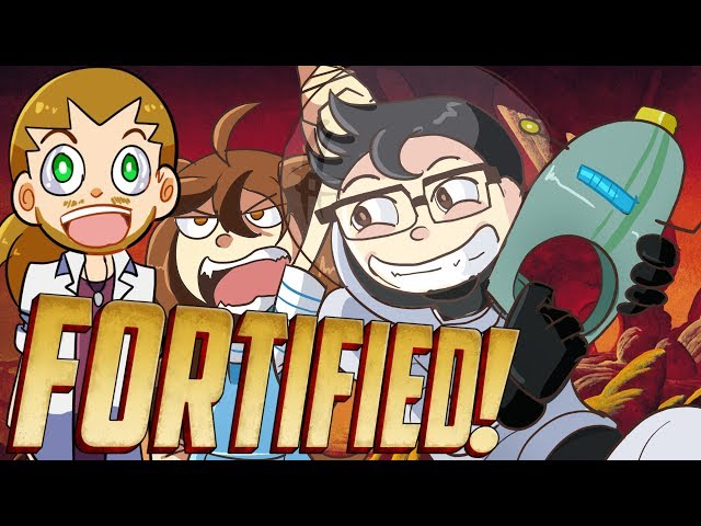 Fortified w/ Friends   Aliens!?   FREEZE & SHOUT EVERYTHING! #1