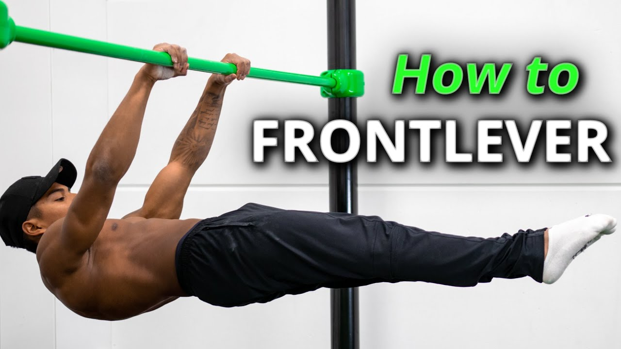 How to FULL FRONTLEVER -  Step by Step Tutorial