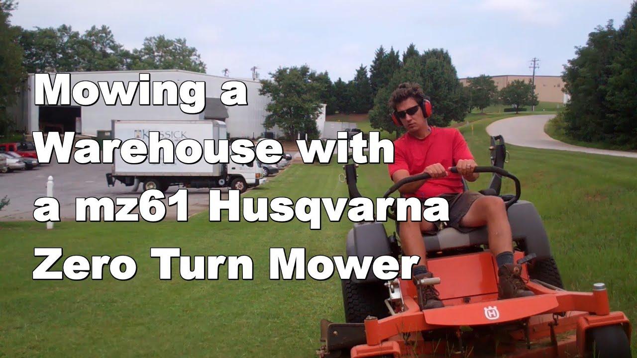 Husqvarna MZ61 Zero Turn Riding Mower, 27 HP Briggs Review