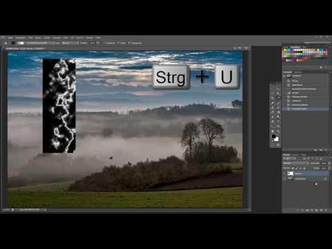 Gewitter-Blitz mit Photoshop (alle Versionen)